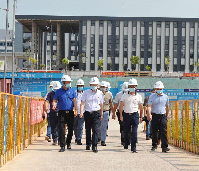 市委常委、组织部部长莫锦荣到我集团公司 开展党建工作和激励干部担当作为调研